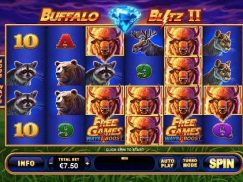 Buffalo Blitz 2 Bonus